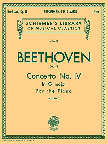 9780793551927: Concerto No. 4 in G, Op. 58: Schirmer Library of Classics Volume 624 National Federation of Music Clubs 2014-2016 Piano Duet