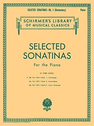 Selected Sonatinas for the Piano: Various, Various; Hal