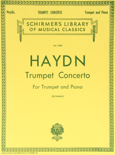 9780793551958: Trumpet Concerto: For Trumpet and Piano (Schirmer's Library of Musical Classics)