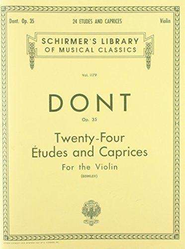 9780793552214: 24 Etudes And Caprices, Op. 35 for the Violin