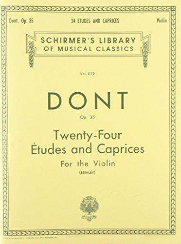 9780793552214: Dont: 24 Etudes and Caprices, Op. 35 (Gradus ad parnassum)