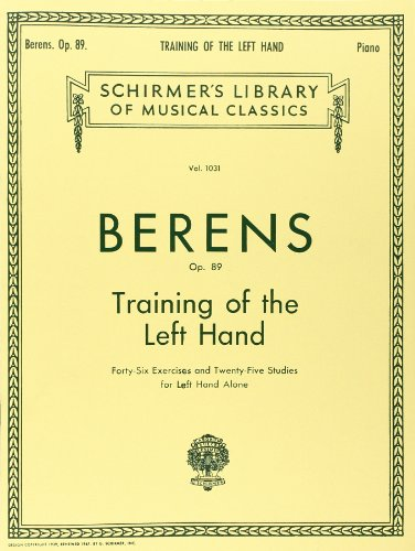 9780793552245: Training of the Left Hand, Op. 89