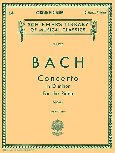 9780793552269: Concerto in D Minor (2-piano Score): Piano Duet