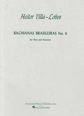 Bachianas Brasileiras No. 6 (0793552303) by Heitor Villa-Lobos