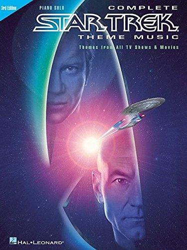 Complete Star Trek Theme Music Piano Solo 3Rd Edition