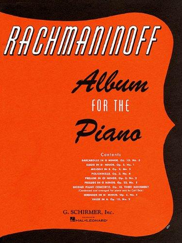 9780793552603: ALBUM FOR THE PIANO
