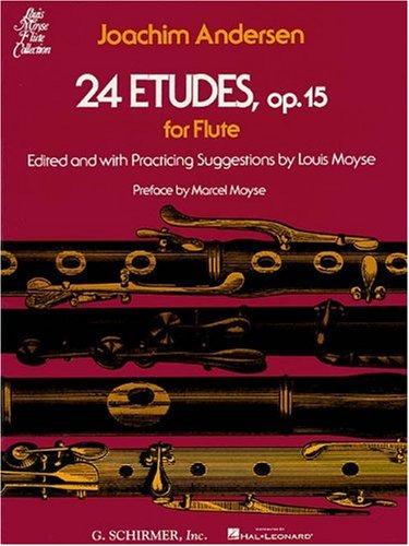 9780793552665: 24 Etudes, Op. 15 (Flute Solo) (Louis Moyse Flute Collection)