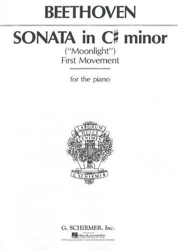 9780793552979: Sonata in C# Minor, Op. 27, No. 2 (Moonlight)
