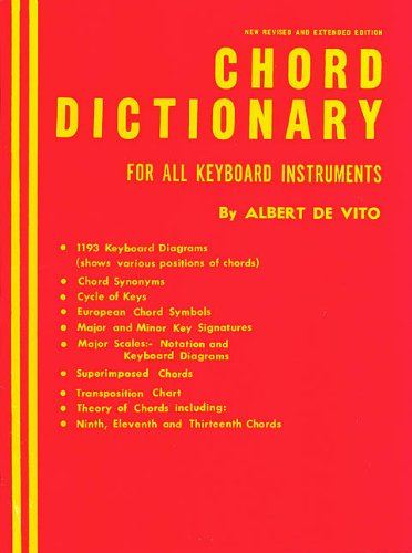 9780793552986: CHORD DICTIONARY FOR ALL KEYBOARD INTRUMENTS