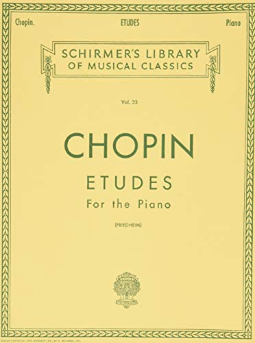 9780793553136: Frdric Chopin: tudes (Friedheim) Piano (Schirmer's Library of Musical Classics)