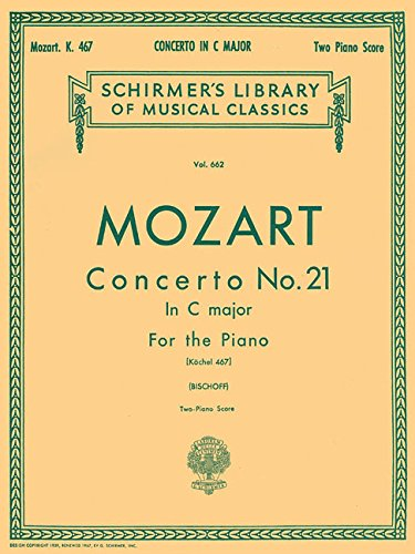 9780793553150: Mozart: Concerto No. 21 in C Major, Piano Score K.467