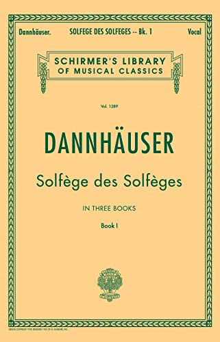 9780793553266: Solfège de Solfèges, Book 1 - Schirmer's Libary of Musical Classics, Vol. 1289)