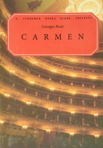 9780793553600: Carmen: Opera in Four Acts