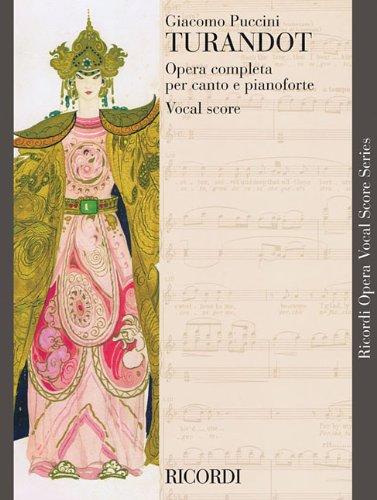 9780793553747: TURANDOT VOCAL SCORE PAPER ENGLISH ITALIAN NEW ART COVER