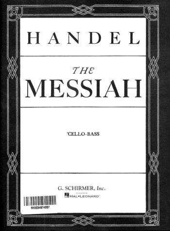 9780793553761: Messiah (Oratorio, 1741)