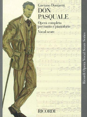 9780793553839: Don Pasquale: Opera Completa Per Canto E Pianoforte: Vocal Score (Ricordi Opera Vocal Score)