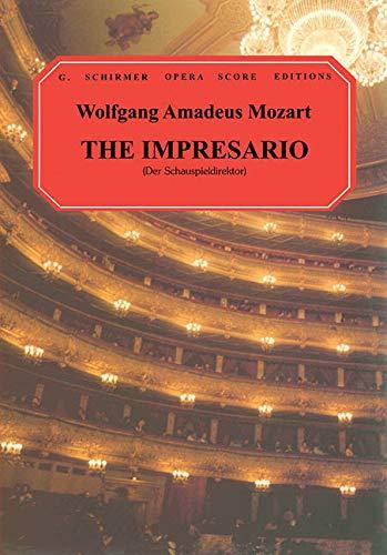9780793553853: The Impresario: Vocal Score