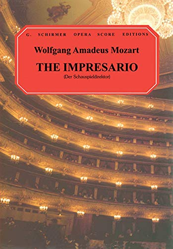 9780793553853: The Impresario: A Comedy With Music in One Act