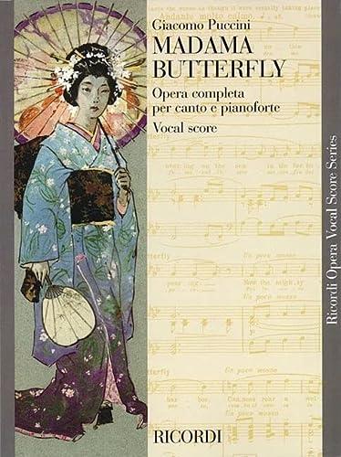 9780793553884: Madama Butterfly: Vocal Score