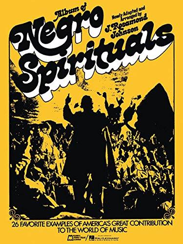 Album of Negro Spirituals (Piano/Vocal/Songbook) [Paperback] [Mar