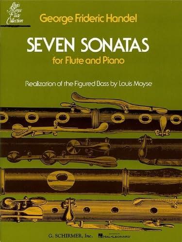 Seven Sonatas for Flute and Piano: Handel, George Frederick