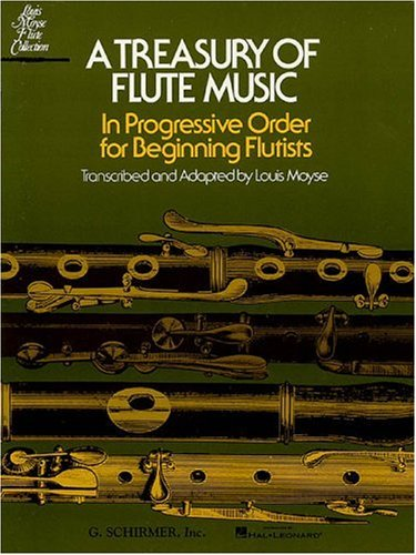 9780793554188: Treasury of Flute Music: In Progressive Order for Beginning Flutists