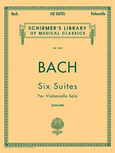 9780793554485: 6 Suites: Cello Solo