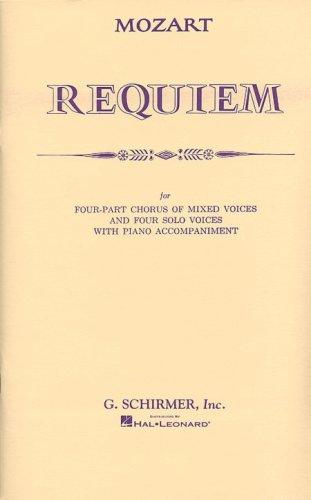 REQUIEM VOCAL SCORE K626 LATIN SATB SOLI