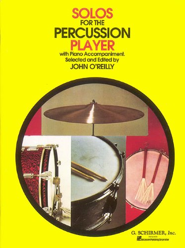 9780793555451: Solos for the Percussion Player (Percussion Collection)