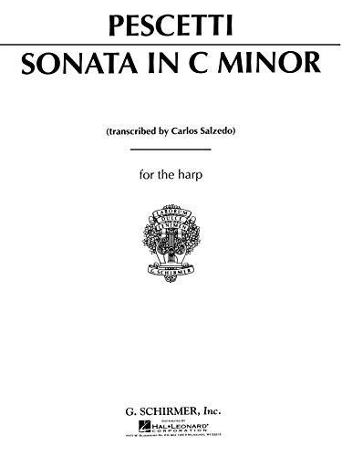 9780793555666: Sonata in C Minor for the Harp