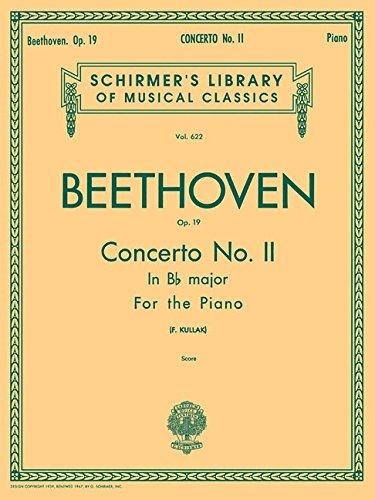 Concerto No. 2 in Bb, Op. 19: Kullak, Theodor [Editor];