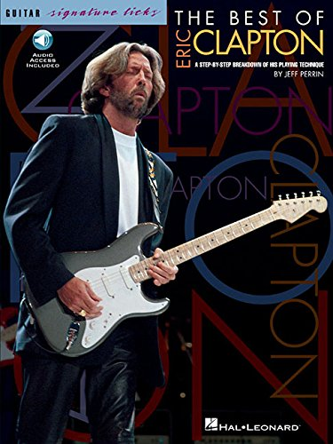 9780793558018: Hal Leonard The Best Of Eric Clapton - Signature Licks Guitar Tab (Songbook/Online Audio)