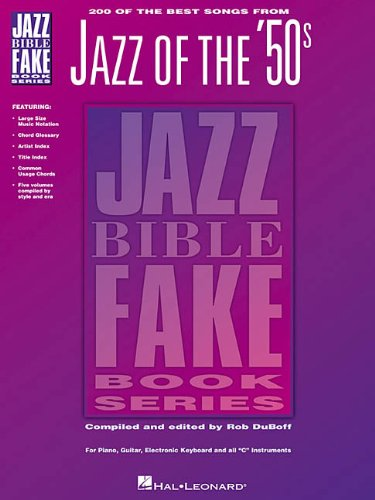 9780793558087: Jazz of the 50's (Jazz Bible Fake Book Series)