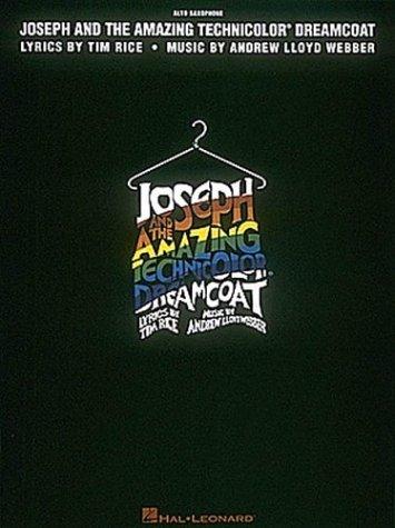 Joseph and Dreamcoat Alto Sax Amazing Technicolor