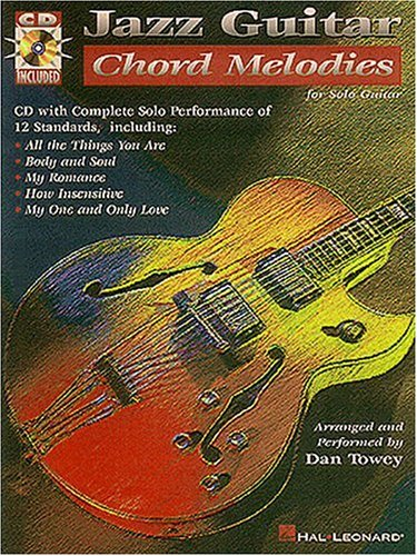 9780793558278: Jazz Guitar Chord Melodies  for Solo Guitar  (with CD)