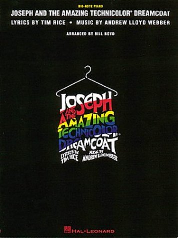 JOSEPH AND THE AMAZING TECHNICOLOR DREAMCOAT.BIG NOTE: Webber, Andrew Lloyd