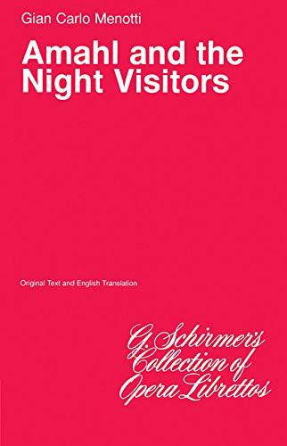 9780793558803: Amahl and the Night Visitors: Libretto (Opera)