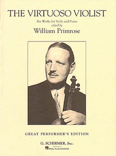 The Virtuoso Violist: Viola and Piano (Decade Series)