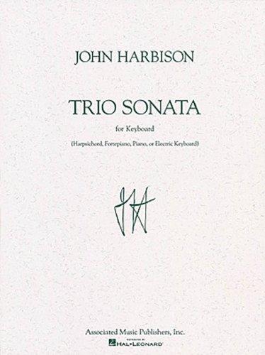 TRIO SONATA FOR KEYBOARD SOLO