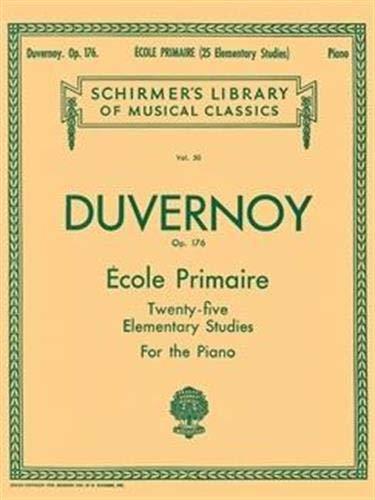9780793559251: Ecole Primaire (25 Elementary Studies), Op. 176: Piano Solo