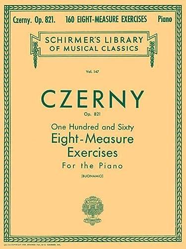 9780793559312: 160 Eight-Measure Exercises, Op. 821: Piano Technique