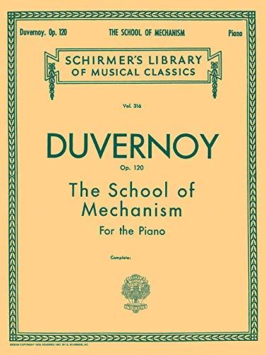 9780793559350: School of Mechanism, Op. 120