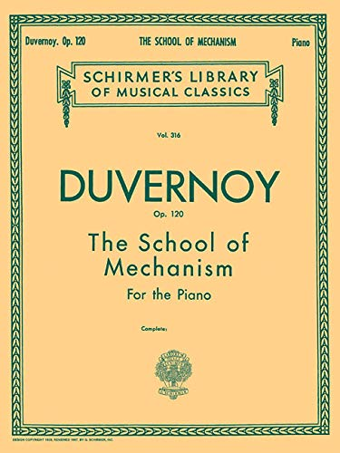 9780793559350: Duvernoy: The School of Mechanism, Op. 120: 15 Studies for the piano written expressly to precede Czerny's School of Velocity