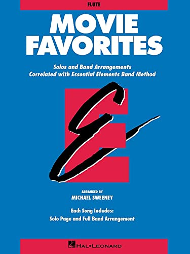 9780793559398: Movie Favorites-Flute: Solos and Band Arrangements Correlated with Essential Elements Band Method