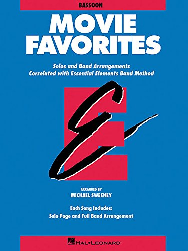 9780793559596: MOVIE FAVORITES BASSOON (Essential Elements)