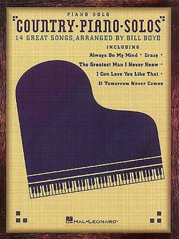 9780793560370: Country Piano Solos