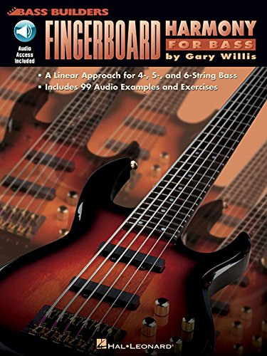 9780793560431: Fingerboard harmony for bass guitare basse+CD (Bass Builders)