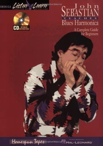9780793560479: John Sebastian - Beginning Blues Harmonica (Listen & Learn)