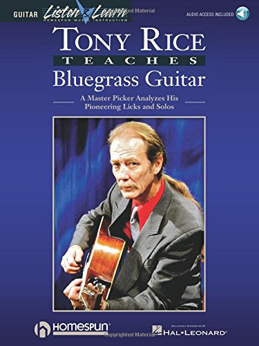 9780793560486: TONY RICE TEACHES BLUEGRASS GUITAR BK/CD