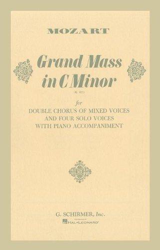 GRAND MASS C MINOR K427 VOCAL SCORE